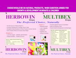 Contract Manufacturing of Herbal Paediatric Range of Product