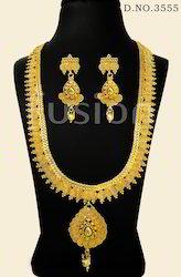 Antique Long Haram Necklace Set