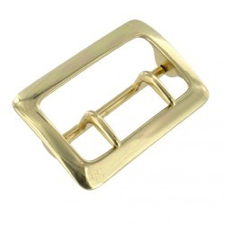 Double Tongue Golden Belt Buckles