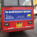 Outdoor Bus Panel Advertisement