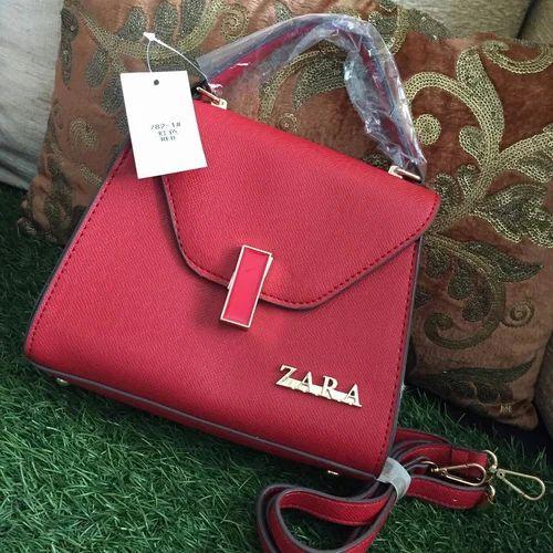 f74c8102ffdc Pink Red Simple Design Zara Designer Bag, Rs 1200 /piece, Junction ...