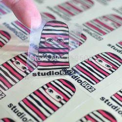 Printed Plastic Sticker