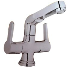 Bhagwati Sanitation Modern Stylish Center Hole Basin Mixer, For Bathroom Fittings