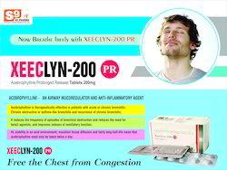 Acebrophylline 200 mg SR    Tablet