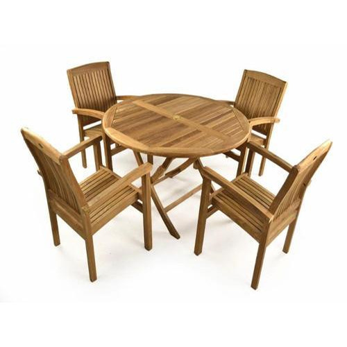 4 seater wooden garden table set - Garden Furniture 4 Seater