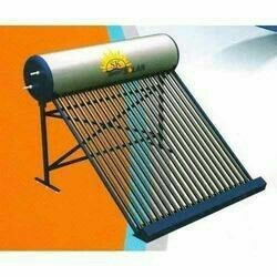 Solar Water Heater With Electric Back-Up