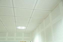 Perforated Gypsum Tiles