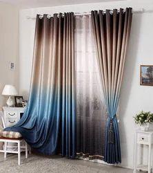 Printed Jacquard Fabric Door Curtains