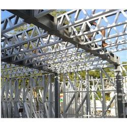 Panel Build Rectangular Galvanized Steel Structures, for Pharmaceutical / Chemical Industry