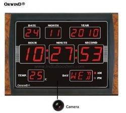 Spy Wall Clock Camera Full HD Spy Camera 4K