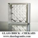 Chekers Glass Bricks