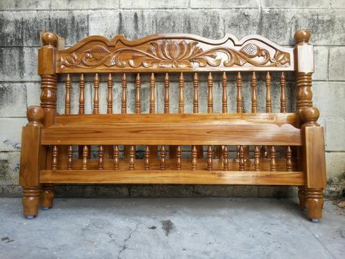 New Pure Teak Wood Cot At Rs 20500 Piece S Cot Bed