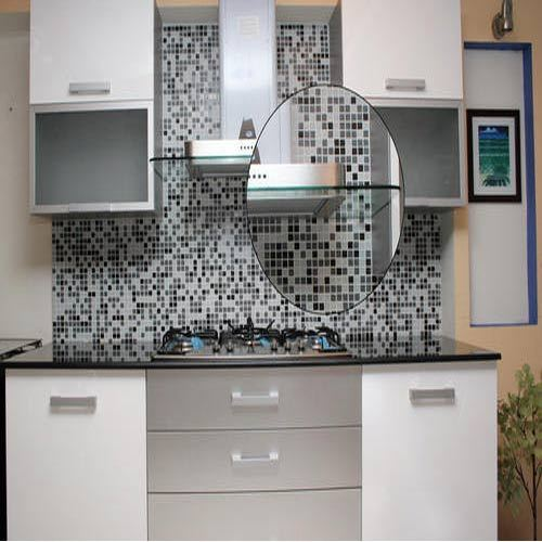 Glass Mosaic Kitchen Tiles At Rs 350 /square Feet