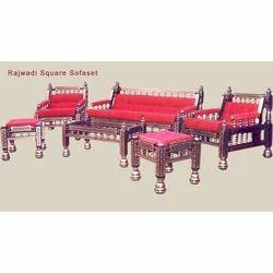 Rajwadi Square Sofa Set
