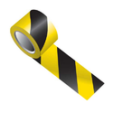 Yellow Black Floor Marking Tape
