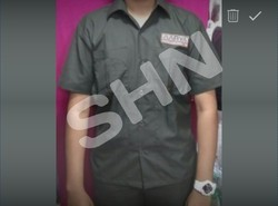 Cotton Plain Security Guard Safari Suit