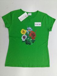Ladies Cotton Round neck T shirt