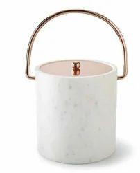 Marble Stone Ice Bucket