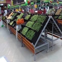 Supermarket Vegetable Rack