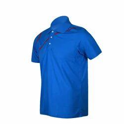 Blue Men's Polo T-Shirt