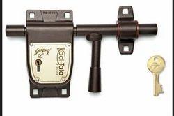 Godrej 200mm Kadi-Tala Pad Lock Texture Brown