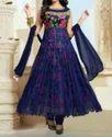 Blue Anarkali Suits