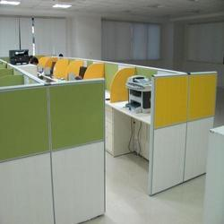 Wooden Office Partition Service