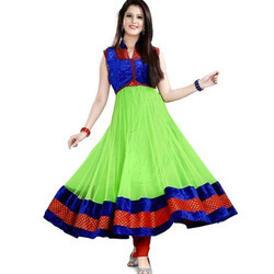 Ladies Sleeveless Anarkali Kurti