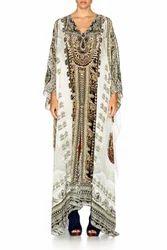 Printed Kaftan Dress for Woman's
