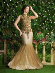Designer Semi Stitched Party Wear Gowns