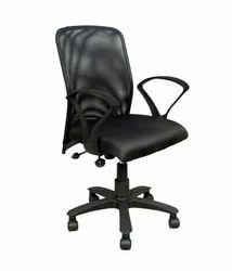 Black Adjustable Workstation Chair