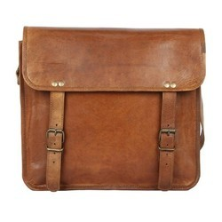 Genuine Leather iPad Messenger Bag MESS106