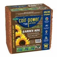 Coco Peat  De-Compost Block