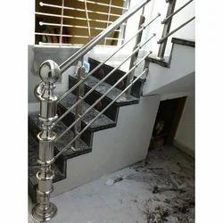 Steel Railing Elevation