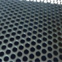 Straight Round Holes Perforated Sheet