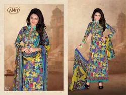 Multicolor Cotton Suits