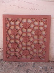 Dholpur Red Stone Jali
