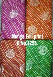 44 inch Munga Foil Print Fabric