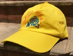 ... Chennal Super Kings Cap Promotional Hat f49569767ae8