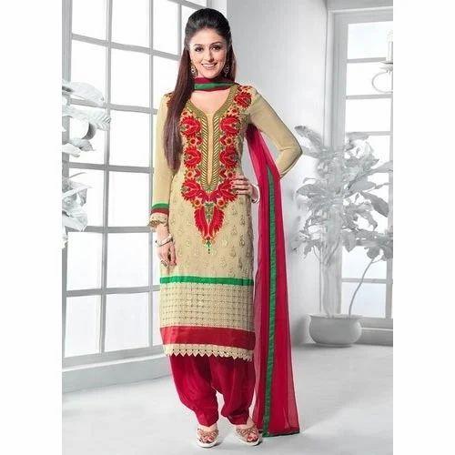04740f9c55 Punjabi Patiala Suit, पटियाला सूट - Divine International ...