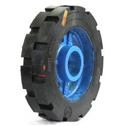 Heavy Duty C.I Bonded Wheel 14 X 3