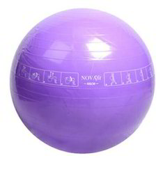 Novafit Instruction Printed Gym Ball 65 Cm