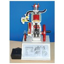 4 Stroke Petrol Engine Working Model