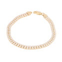 Ultra Light Daniella 925 Sterling Silver Bracelet