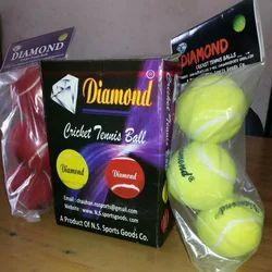 Diamond Cricket Tennis Ball