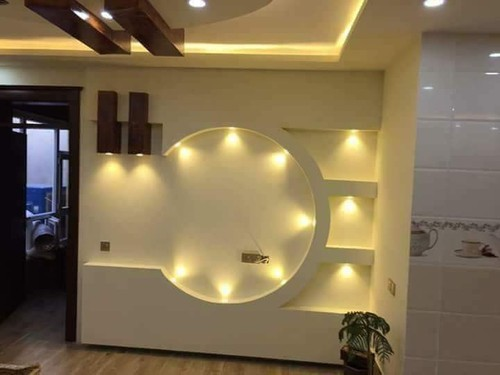 Gyp Wall Paneling Gypsum Wall Design Works Service