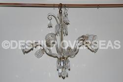 And Glass Antique Chandelier