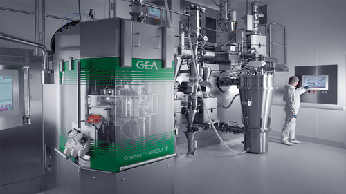 Consigma Continuous Tableting Line Gea Process