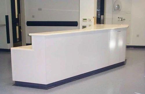 hospital reception counter