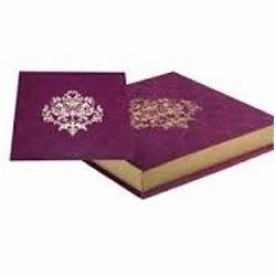 Fancy Wedding Card Box